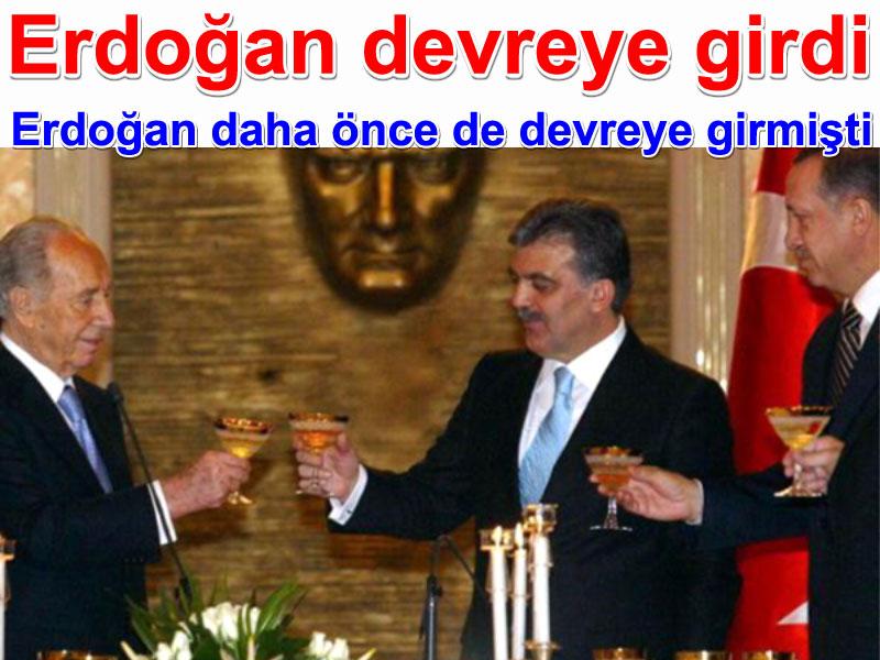 Recep Tayyip Erdoğan Abdullah Gül Ariel Şaron içki kadehi