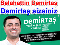 "Selahattin Demirtaş: ""Demirtaş sizsiniz"""