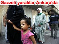 Gazzeli yaralılar Türkiye'de tedavi altında