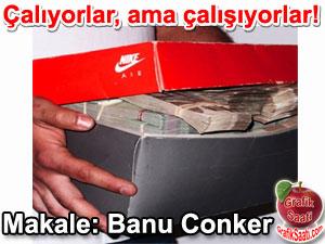 Rüşvet yolsuzluk hırsızlık para ayakkabı kutularından çıkan paralar