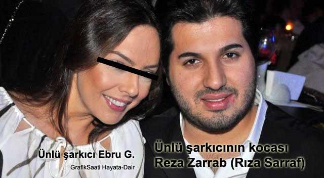 Reza zarrab Rıza Sarraf Reza Zarrap Ebru Gündeş ünlü şarkıcı şarkıcının kocası