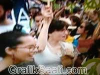 Green Peace Kadıköy mitingi