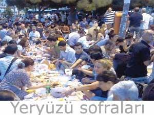 İhsan Eliaçık yeryüzü sofraları iftarları