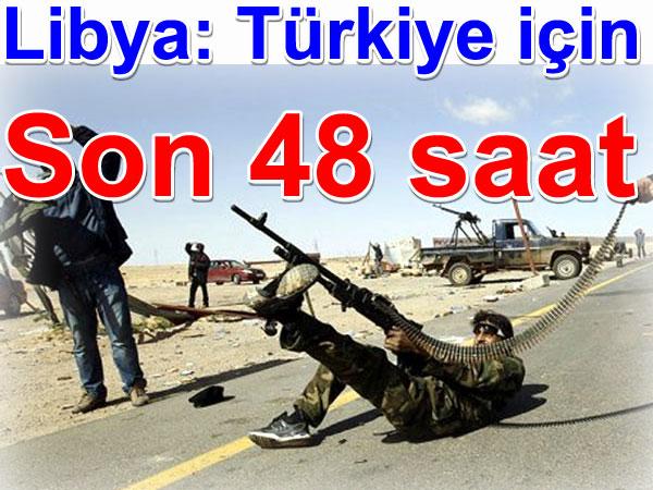 Libya: Türk vatandaşları için son 48 saat | Libya haberleri