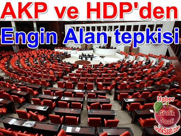 AKP ve HDP yemin töreninde MHP Milletvekili Engin Alan'a tepki gösterdi | Türkiye ve politika haberleri