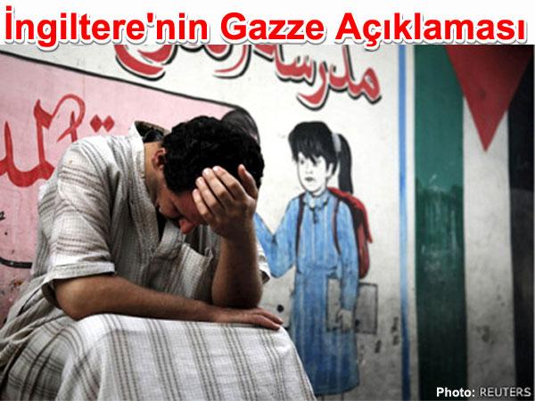 İngiltere'nin Gazze Açıklaması