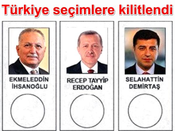 Türkiye seçimlere kilitlendi