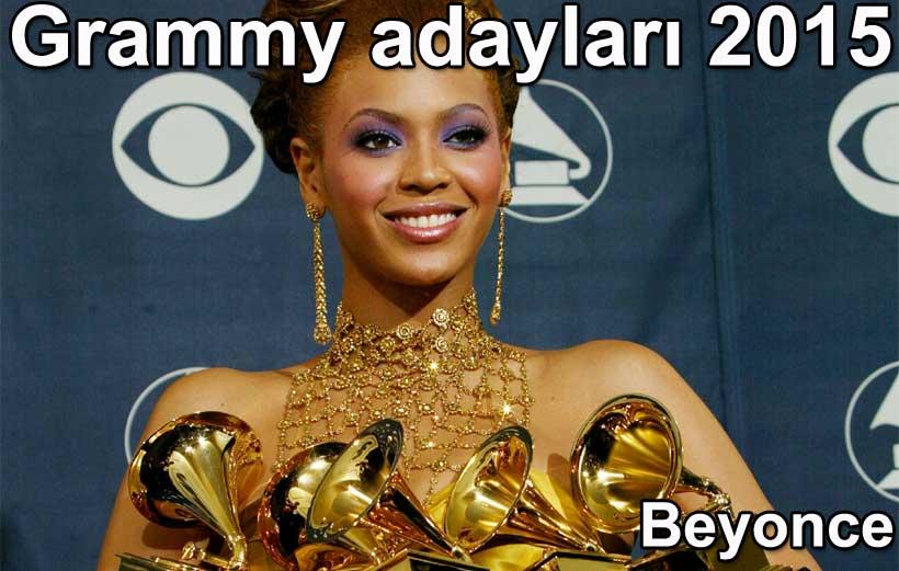 Grammy ödüleri 2015 adayları Beyonce