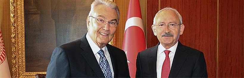 CHP grubunun meclis başkan adayı Deniz Baykal
