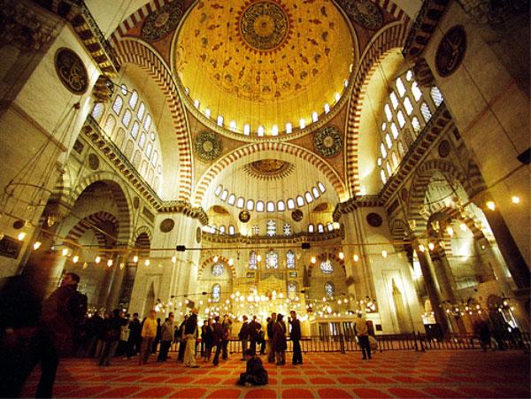 Süleymaniye'de bayram namazı Şiir Yahya Kemal Beyatlı